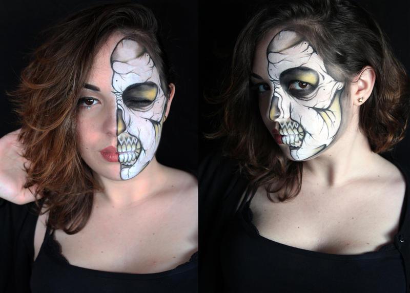 Skull Ronnie Mena by SelyaMakeup