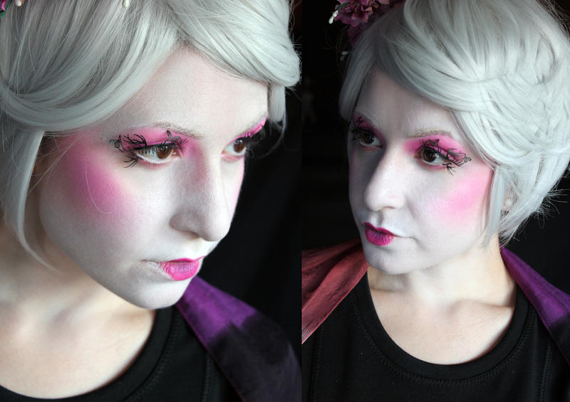 Effie Hunger Games Makeup by SelyaMakeup