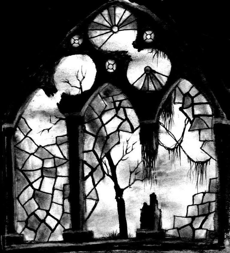 Forgotten Church Window by khantheripper