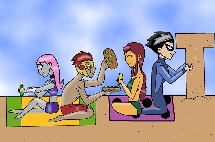 Surf Teen Titans 80