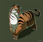 Stubby Tubby Tiger