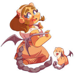 Teacup Manticore