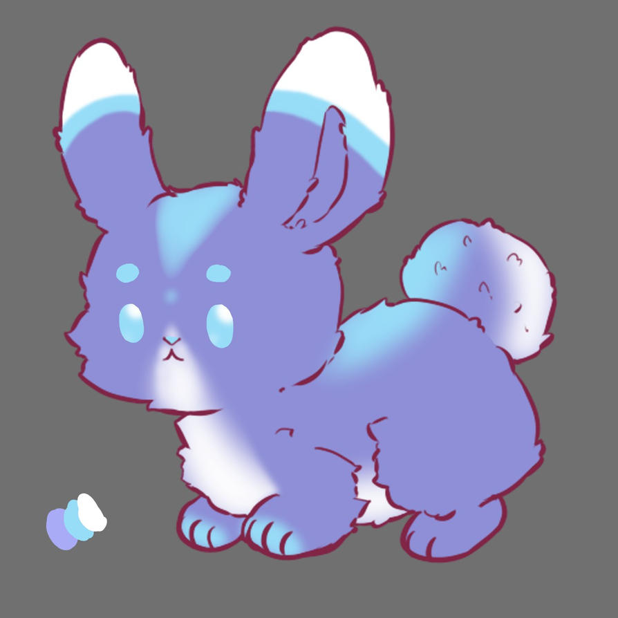 70W Bunny [Auction] (CLOSED) by liselotte41