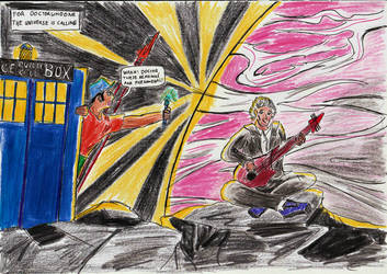 DoctorWhoOne-The Universe is calling. by incoming-101