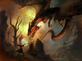 Dragon Mountains by jasonjuta