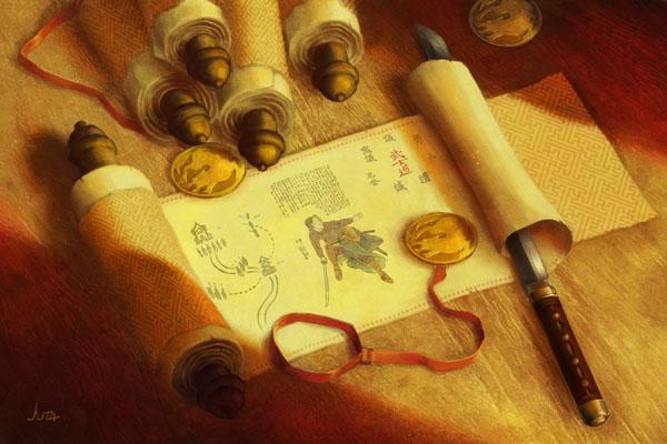 Cartas de CE Legend_of_the_Five_Rings_6_by_higherdepths