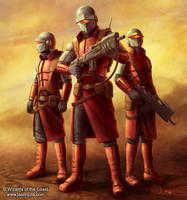 Nimbus Commandos by jasonjuta