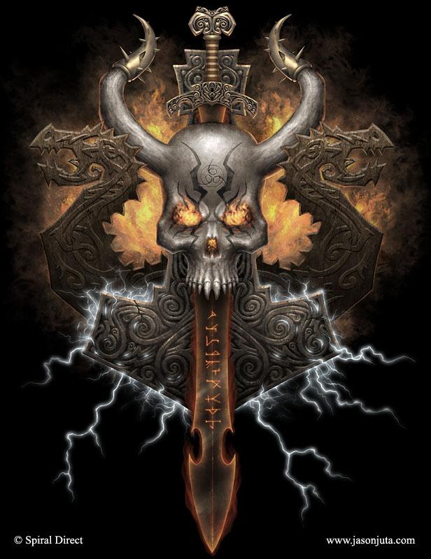 skull wallpaper spiral knights - photo #17