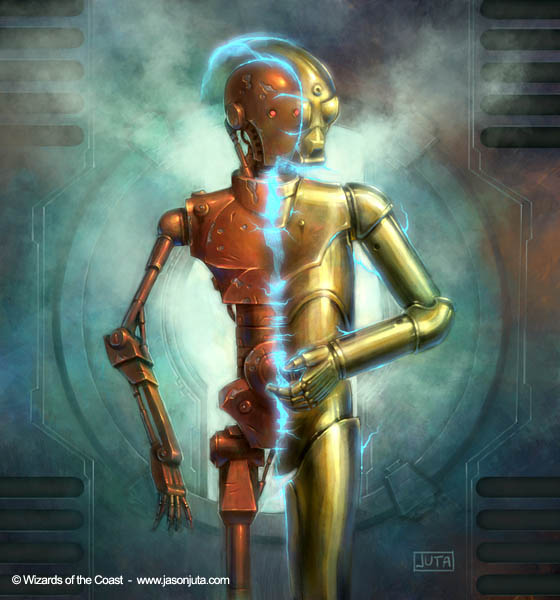 Star Wars: TS-SC Droid by jasonjuta