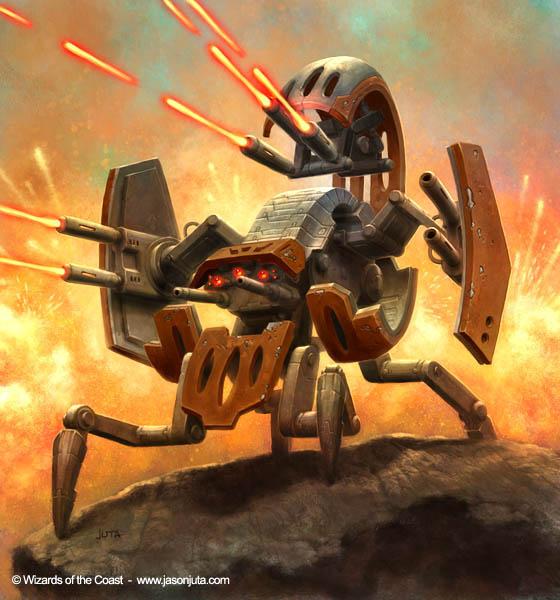 Star Wars: Droideka Mk II by jasonjuta