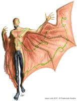 Venusian Glider by jasonjuta