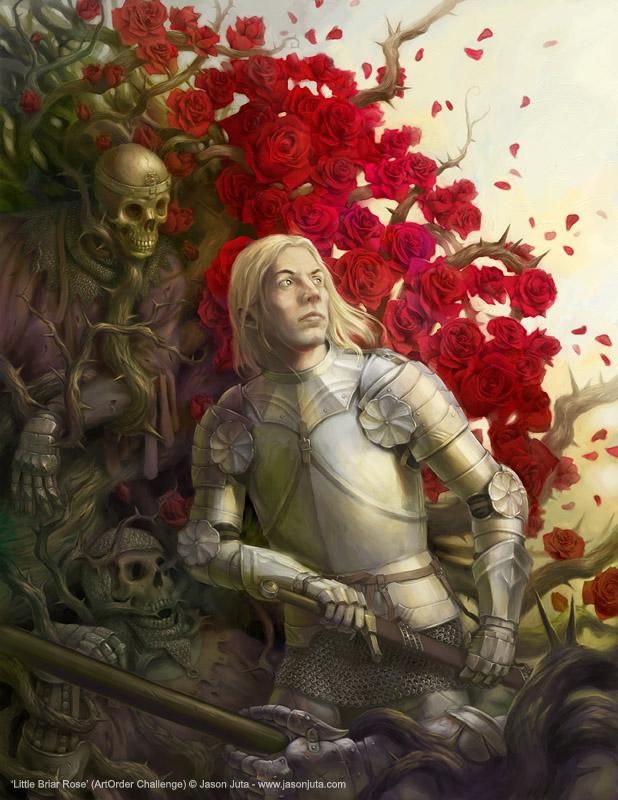 Little Briar Rose by jasonjuta