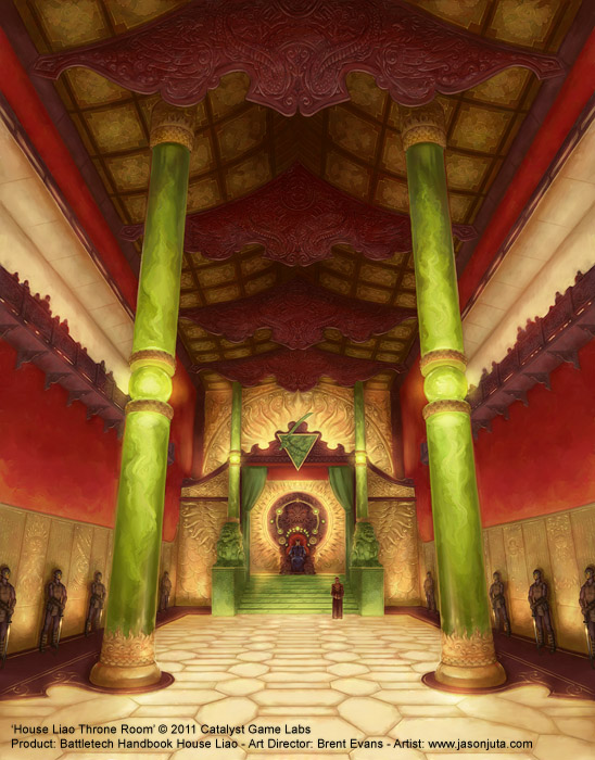 House Liao Throne Room by jasonjuta
