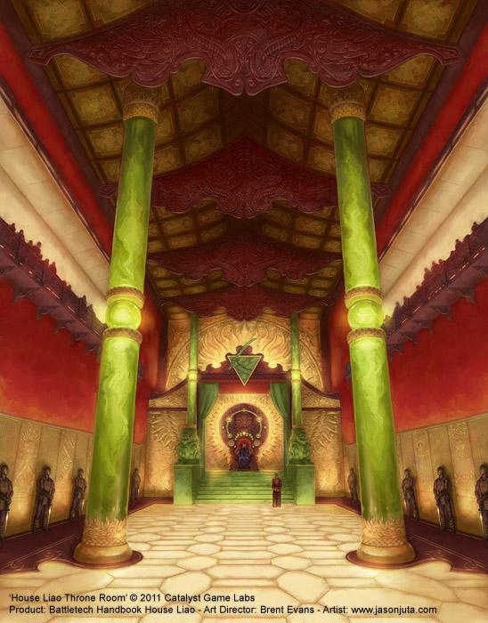 House Liao Throne Room by jasonjuta