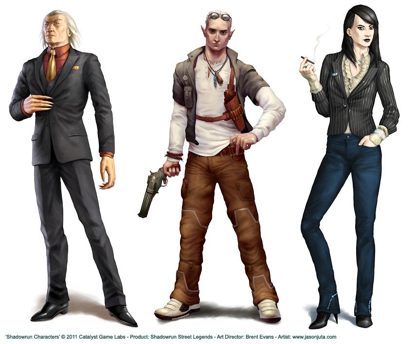 Shadowrun Street Legends by jasonjuta