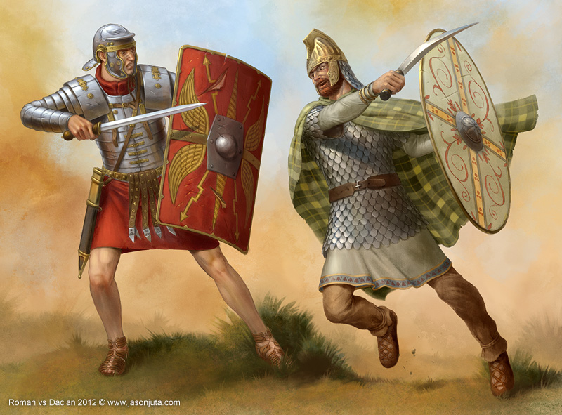 Roman vs Dacian by jasonjuta