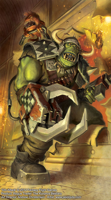 Ork Attack by jasonjuta