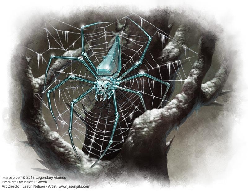 Harp Spider by jasonjuta
