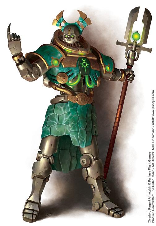 Overlord Regent Ahhotekh by jasonjuta