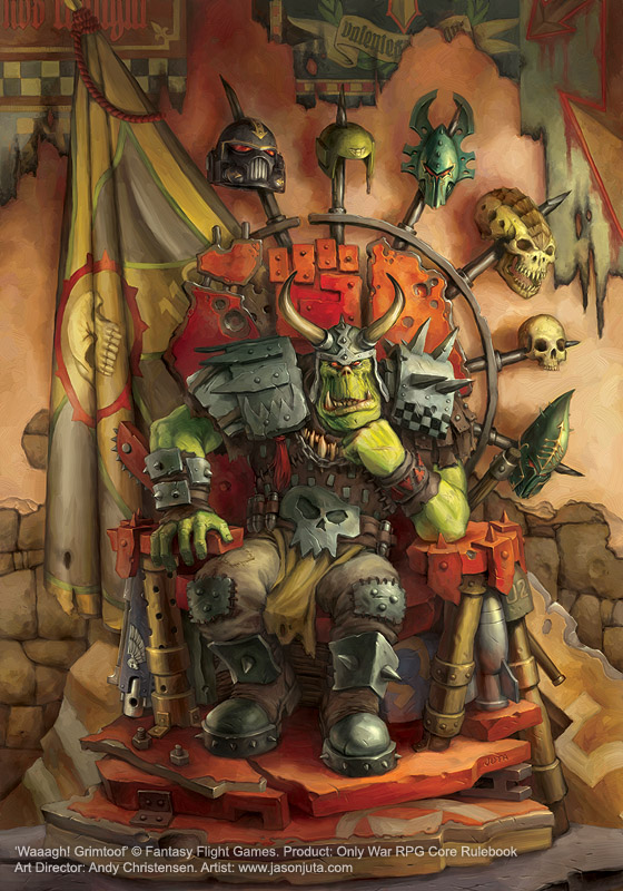 Waaagh Grimtoof by jasonjuta
