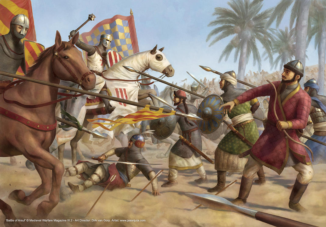Battle of Arsuf by jasonjuta