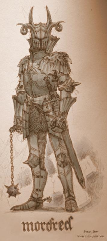 Mordred by jasonjuta