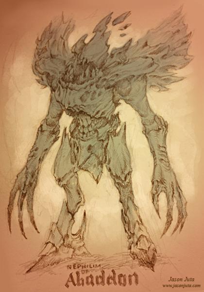 Nephilim of Abaddon by jasonjuta