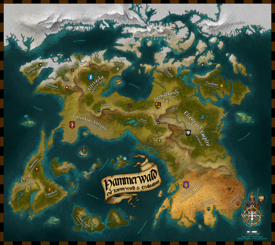 Hammerwald Map by jasonjuta