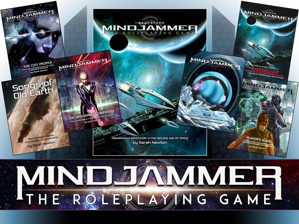 Mindjammer RPG Kickstarter Update by jasonjuta