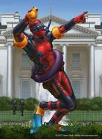 Deadpool Across America: The White House