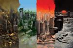 Four Apocalypses