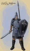 Gondorian Infantryman by jasonjuta