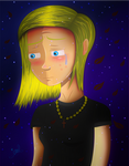 Sad girl by EIVL14