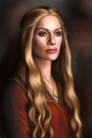 Cersei Lannister by hello-ground