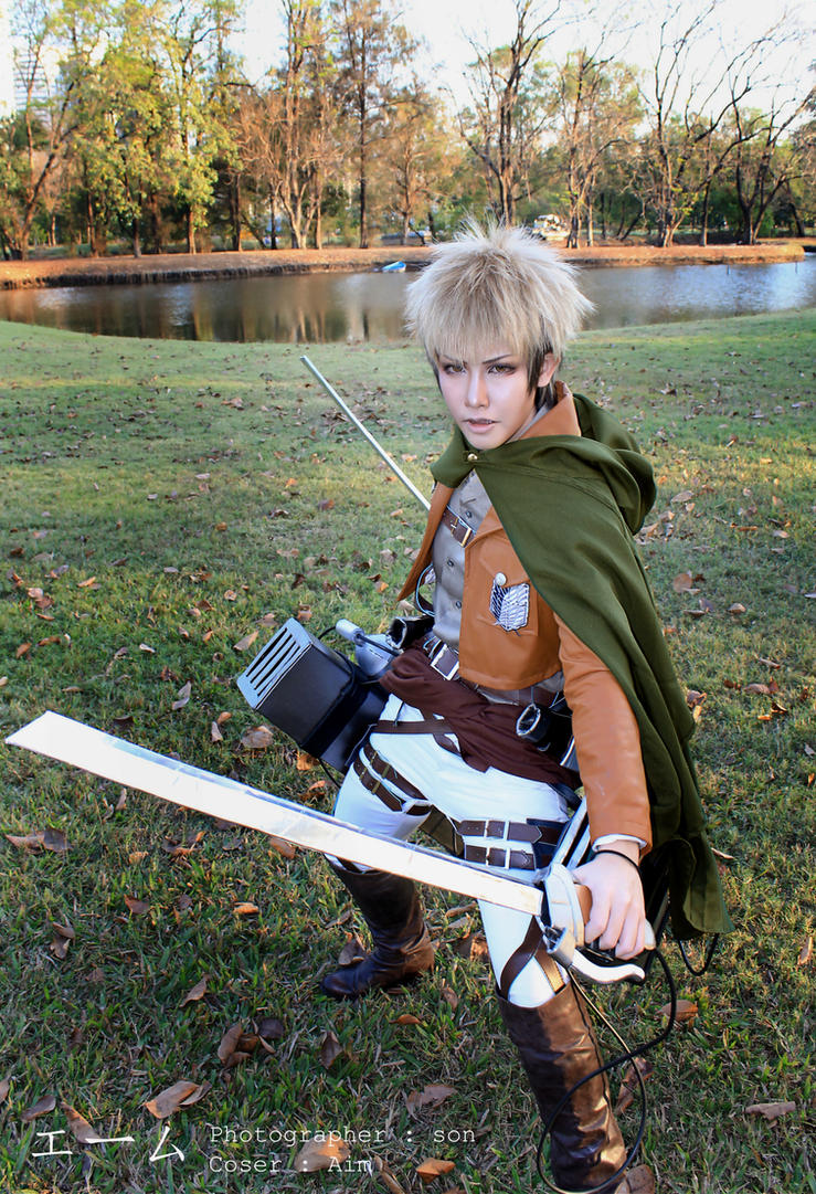 Jean Kirstein by AimCosplayer