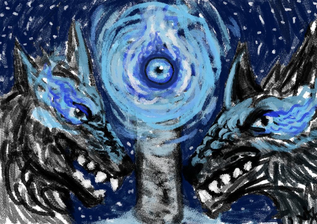 The Dragon Eye by FaroSamor