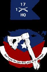 Hatchet 1-17 Infantry, HHC by doncroswhite