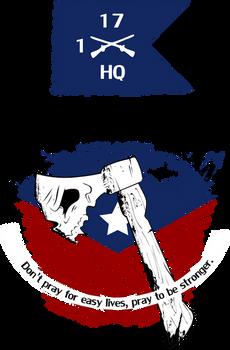 Hatchet 1-17 Infantry, HHC
