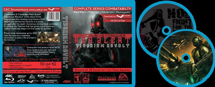 Command and Conquer Tib. Revolt Game Concept