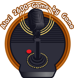 2600 Game by Game Podcast logo concept