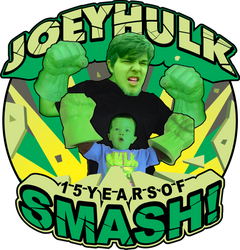 JoeyHULK | 15 Years of SMASH!