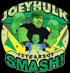 JoeyHULK | 15 Years of SMASH!