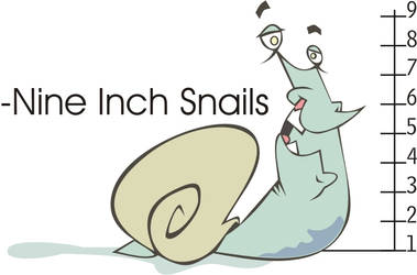 Nine Inch Snails by doncroswhite