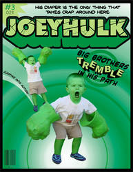 Joey Hulk issue 3 by doncroswhite