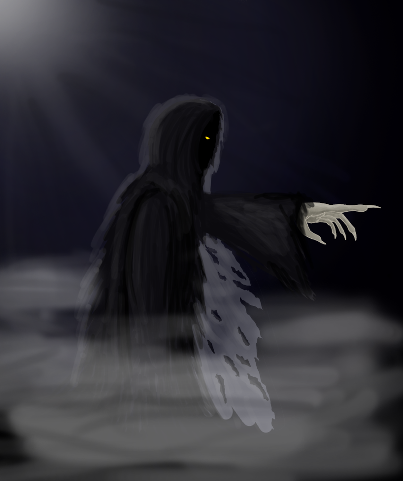 Ghost of Christmas Yet To Come by Neinna-Maranwe on deviantART