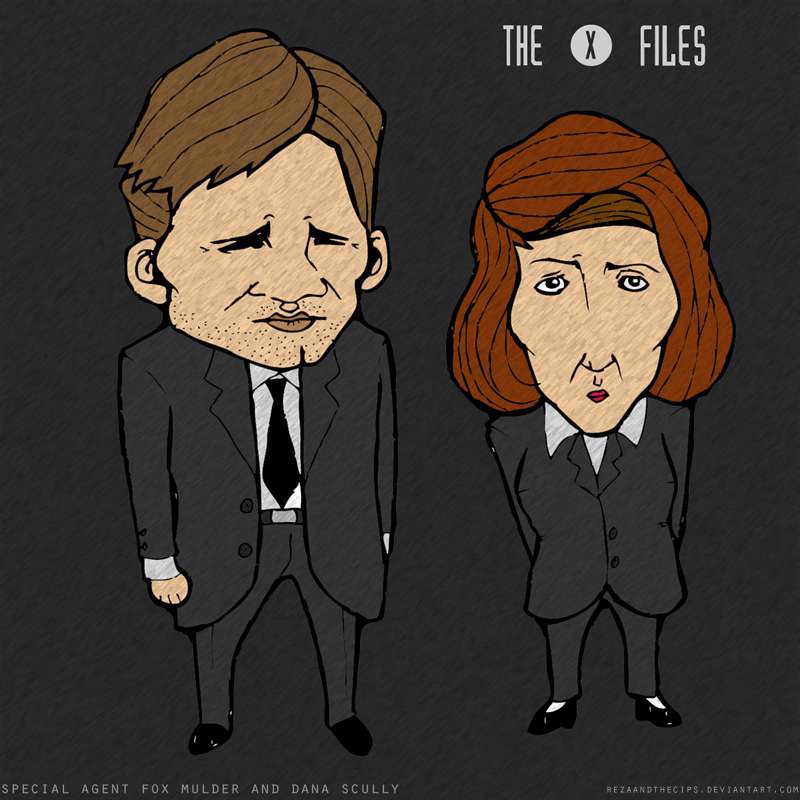 THE X-FILES by rezaandthecips