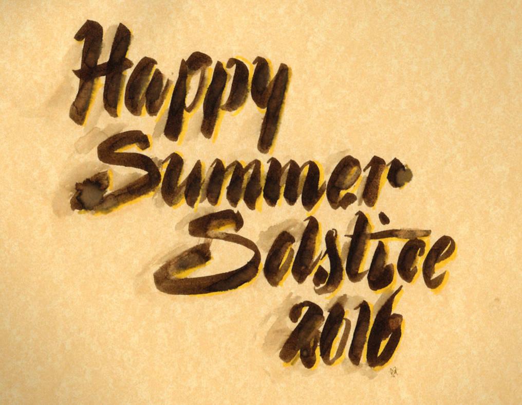 Happy Summer Solstice 2016 by dixiekasilke