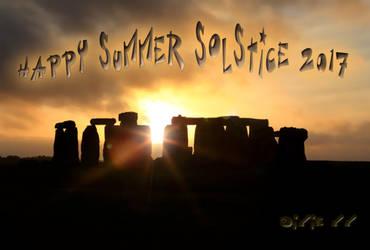 Happy Summer Solstice 2017 by dixiekasilke