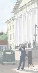 Rendezvous in Tartu. The university. by htj0rvald