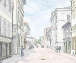 Rendezvous in Tartu. Ruutli street by htj0rvald